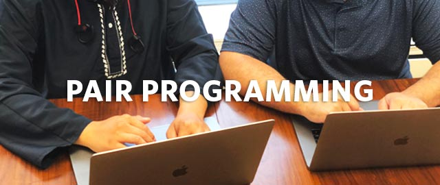 Tag Teamwork: How Pair Programming Can Shorten the Learning Curve